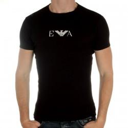 Tee Shirt Emporio Armani Girocollo Noir