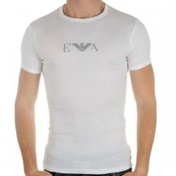 Tee Shirt Emporio Armani Girocollo Blanc