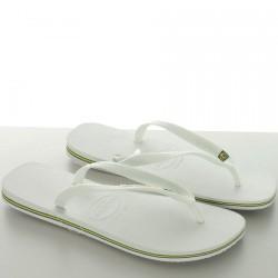 Tong Havaianas Brasil Branco White