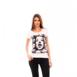 Tee Shirt Only Circus White/Les Print