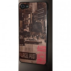 Coque iPhone 5/5S Vintage Case - Streets of NY