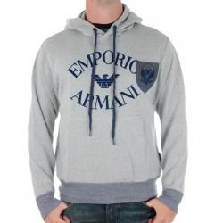 Sweat  Emporio Armani Gris/Bleu