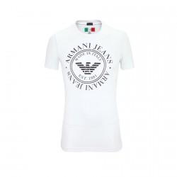 Tee Shirt Emporio Armani T6H43 Blanc