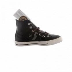 Chaussure Converse Black Cuir Hi