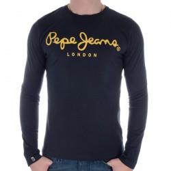 Tee Shirt Pepe Jeans M55916 Marine/Jaune