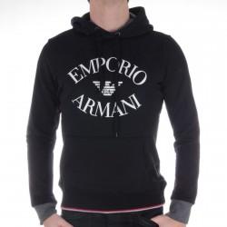 Sweat Capuche Emporio Armani Noir