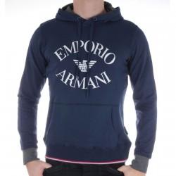 Sweat Capuche Emporio Armani Navy