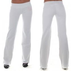 Pantalon Guess GWB231 Blanc/Rose