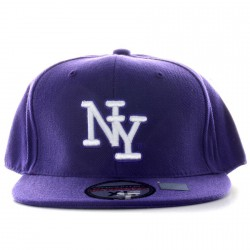 Casquette City Hunter Ultimate NY Violet/Blanc