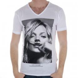 Tee Shirt Eleven Paris KM Blanc