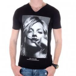 Tee Shirt Eleven Paris KM Noir