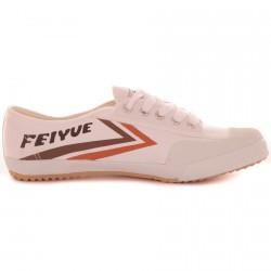 Chaussure Feiyue Blanc/Orange