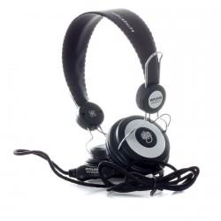 Casque Ecouteur Wrung HeadPhones Black
