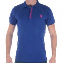 Polo Unkut Bicolor Blue/Pink