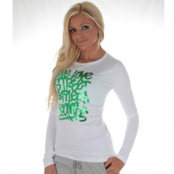Tee Shirt Com8 BLINDER Blanc