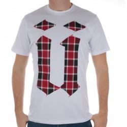 Tee Shirt Unkut Antille White/Red