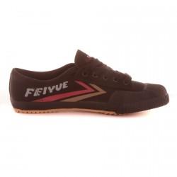 Chaussure Feiyue Noir/Marron/Rouge