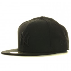 Casquette New Era Fifty NY Noir/Noir