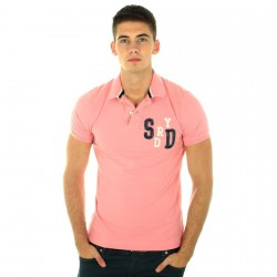 Polo Superdry MS6CH93-94J Rose