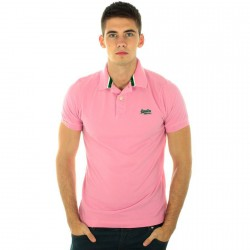 Polo Superdry MS6CH11F1-04R Rose
