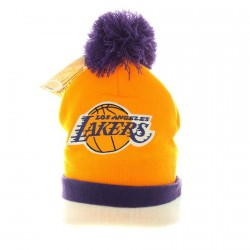Bonnet Mitchell And Ness Lakers Jaune