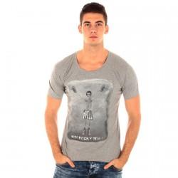 Tee Shirt Seven Tees Rocky Gris