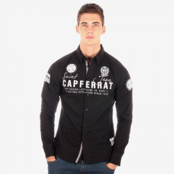 Chemise Geographical Norway Zadar Noire