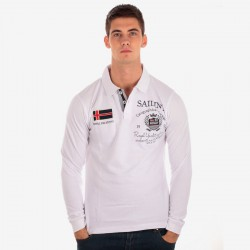 Polo Geographical Norway Hector Blanc