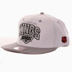 Casquette Mitchell And Ness Kings MTC 2 Tone Blanche