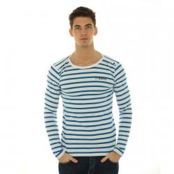 Tee Shirt Little Marcel Timarin Blanc/Bleu