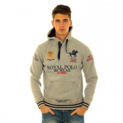 Sweat Geographical Norway Fanclup Gris