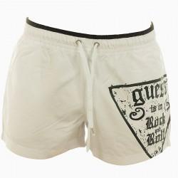 Short de bain Guess G571 Blanc