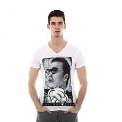 Tee Shirt Celebry Tees P.S.Y Blanc